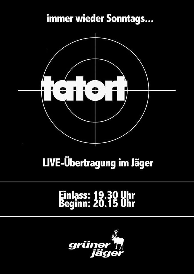 Sonntag 16 November Tatort Fernsehen Macht Doch Nicht Einsam Es Geht Wieder Los Erstmal