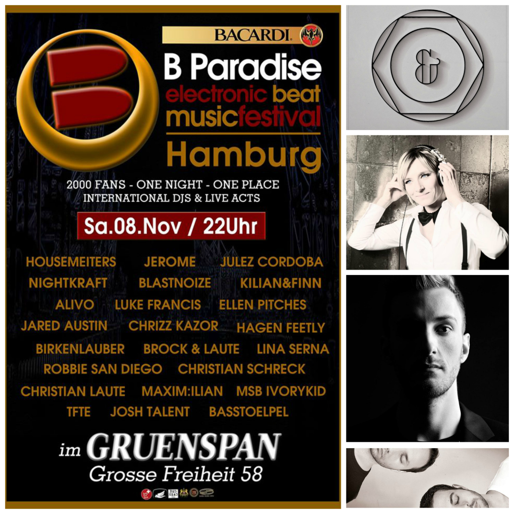 Samstag 08 november bacardi paradise electronic beat for Progressive house classics