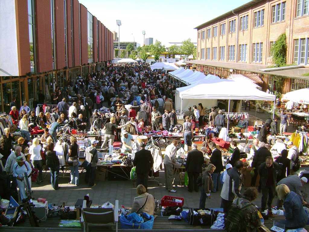 Auf dem Kulturflohmarkt findest du nicht nur Schnäppchen, du tust auch noch was Gutes für deine kulturelle Bildung!