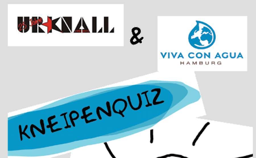 Wer ist der beste Mediziner? Du? Dann suche dir schnell ein Team & trete beim Viva con Agua Kneipenquiz an!