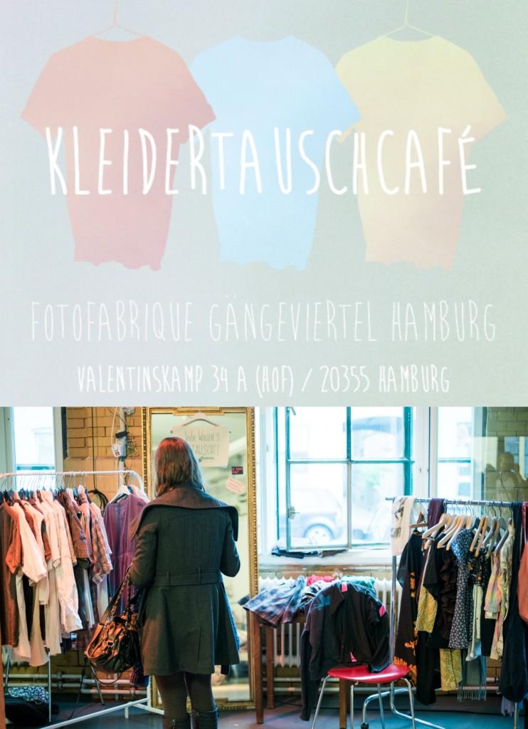 Der Tauschrausch ist ausgebrochen! Beim Kleidertausch Café kannst du deine Schrankhüter abgeben & neue Schätze finden.