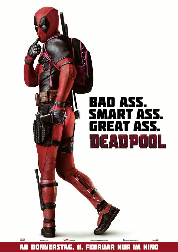 Marvelfans hergehört! Heute läuft Deadpool im St. Pauli Sommerkino! Action, Abenteuer und 'ne Menge Alter Ego!