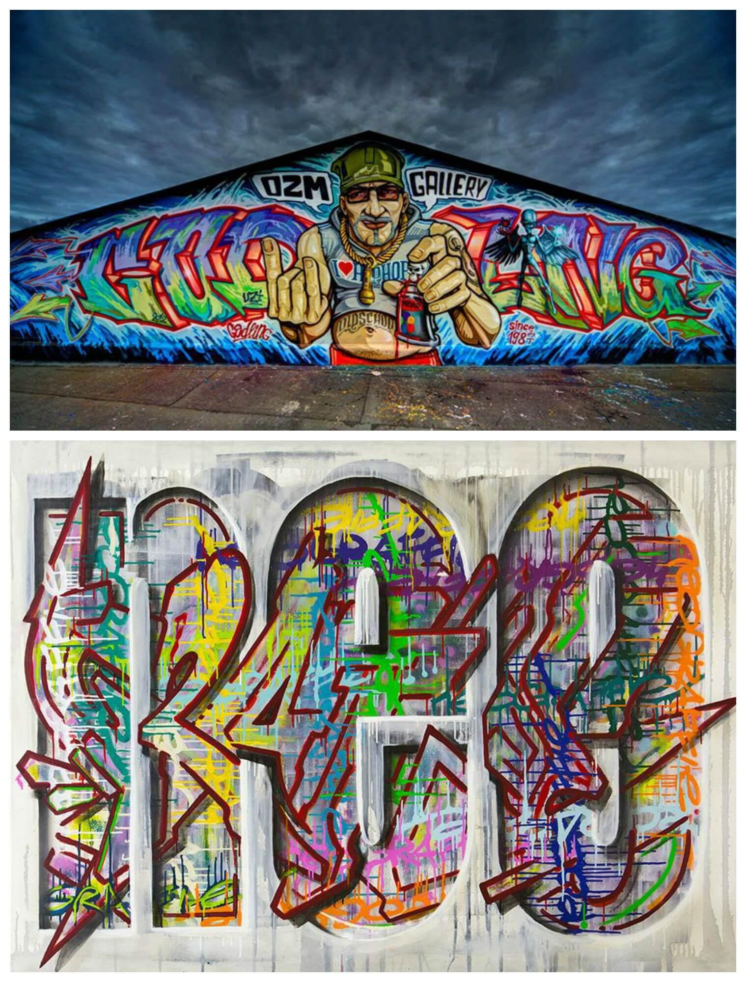 VERNISSAGE! ArtOne und Michael Godling präsentieren im OZM ihre neusten Werke in der Austellung »Neograffie«! Wer sich also von euch für Street Art, Graffiti und moderne Kunst interessiert, der ist hier heute richtig! Bis zum 3. Oktober 2015 ist die Ausstellung noch am Start!