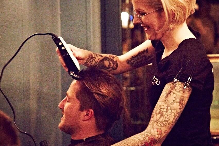 Haare abrasieren fur guten zweck