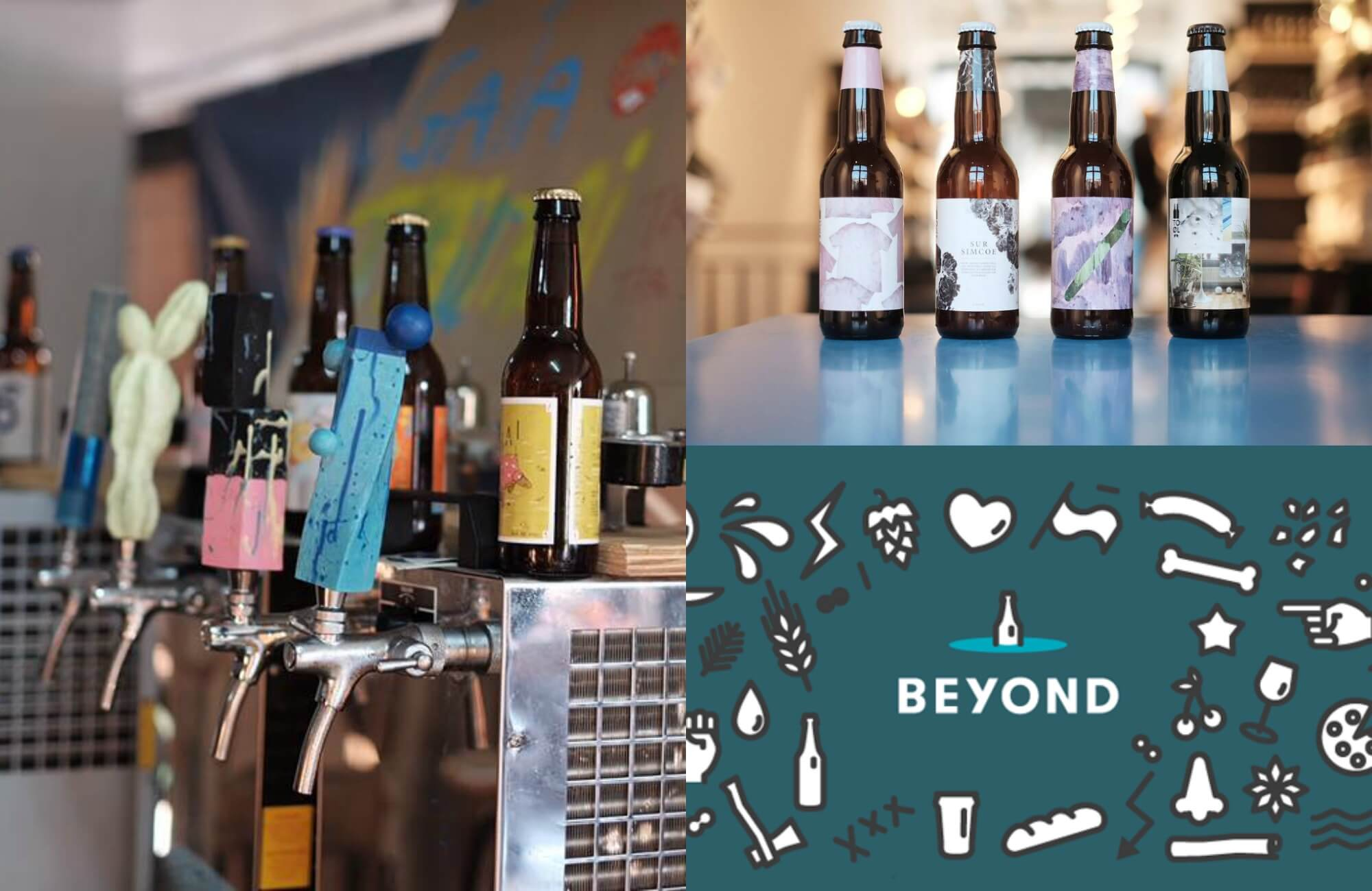 Beyond Beer Collage
