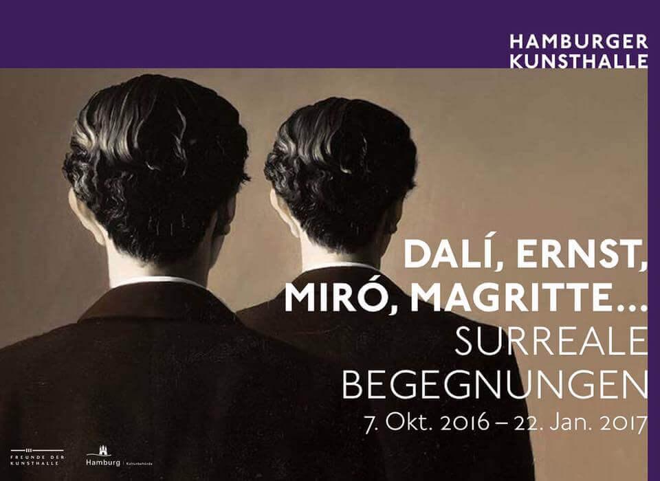 """Kunst gefällig? Nutze die letzte Chance auf surreale Begegnungen in der Ausstellung """"Dalí, Ernst, Miró, Magritte…""""!"""