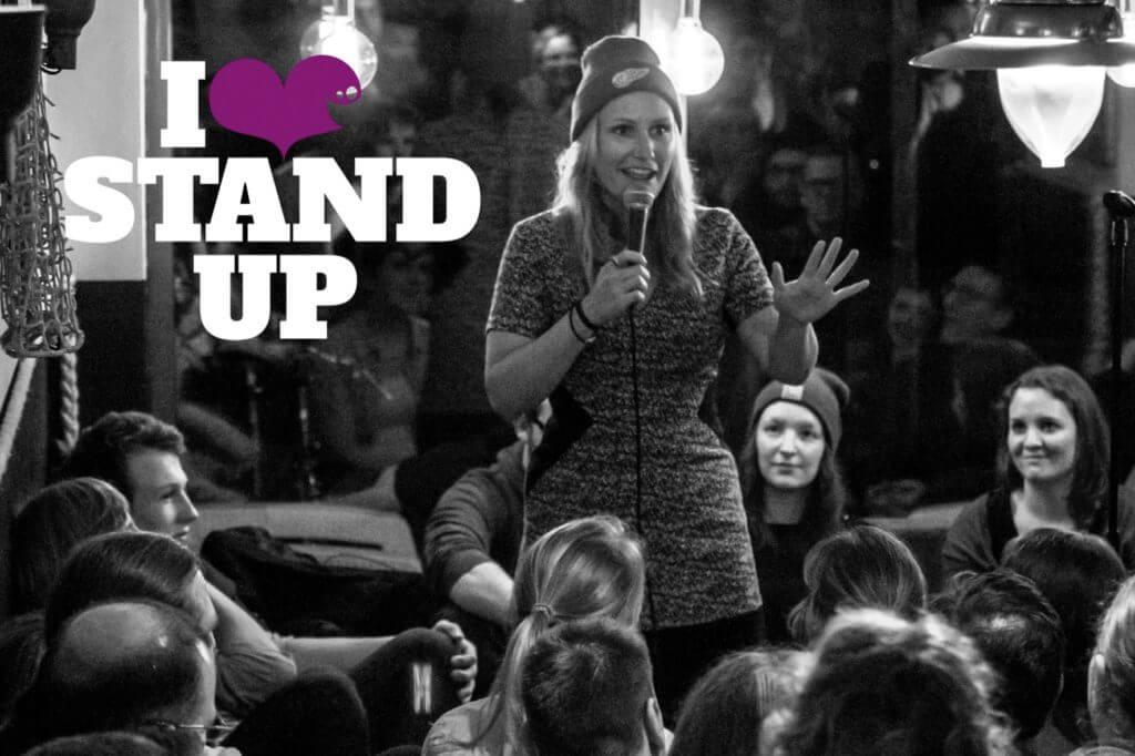 Newcomer probieren sich aus & zeigen ihre neusten Gags! Es gibt also Grund zum Lachen beim I Love Stand Up – Open Mic!