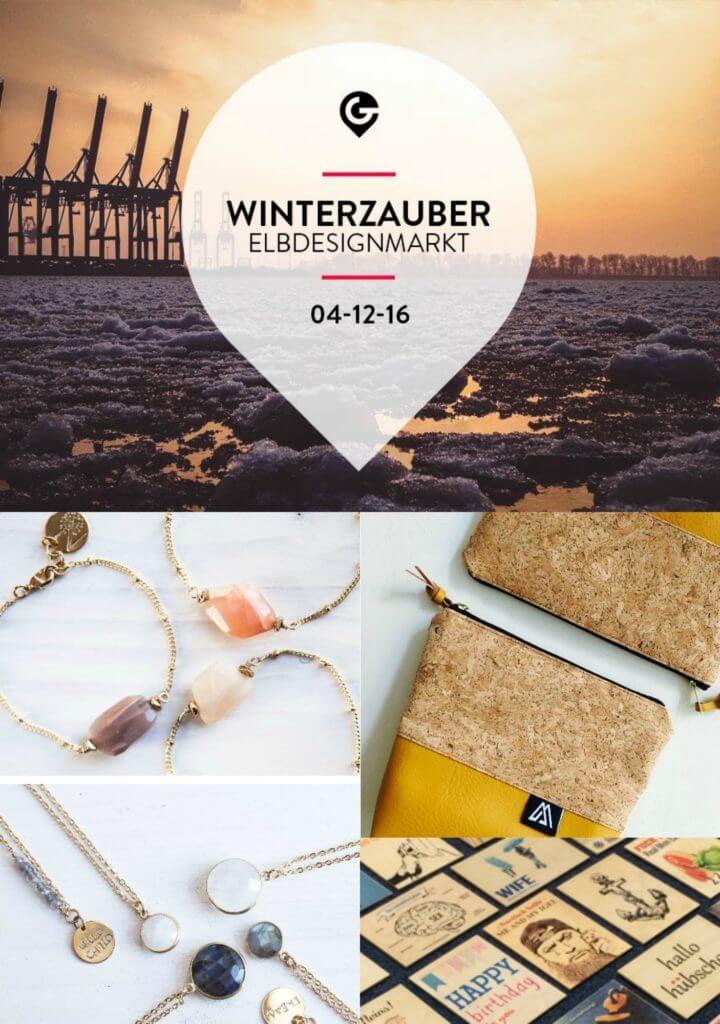 Designer & lauschige Hip Hop Beats. Der Winterzauber Elbdesignmarkt hält wahre Schätze & 'ne chillige Feier bereit.