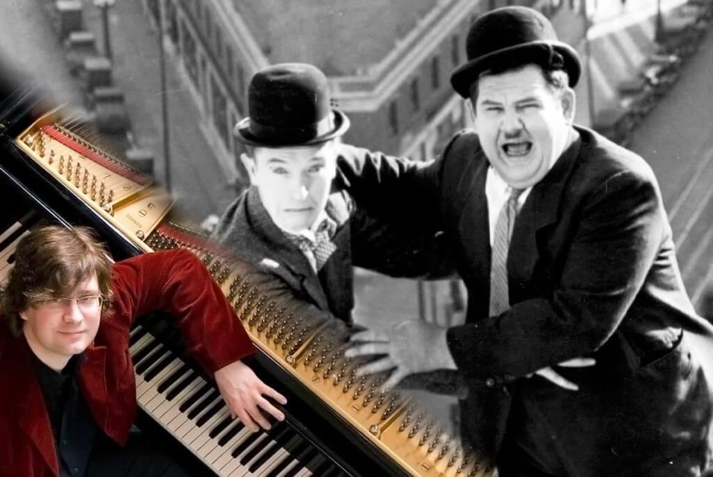 Bock auf ein ganz besonderes Filmerlebnis? Lach dich zu Dick & Doof kaputt und lausche dabei Live-Klaviermusik! 👌