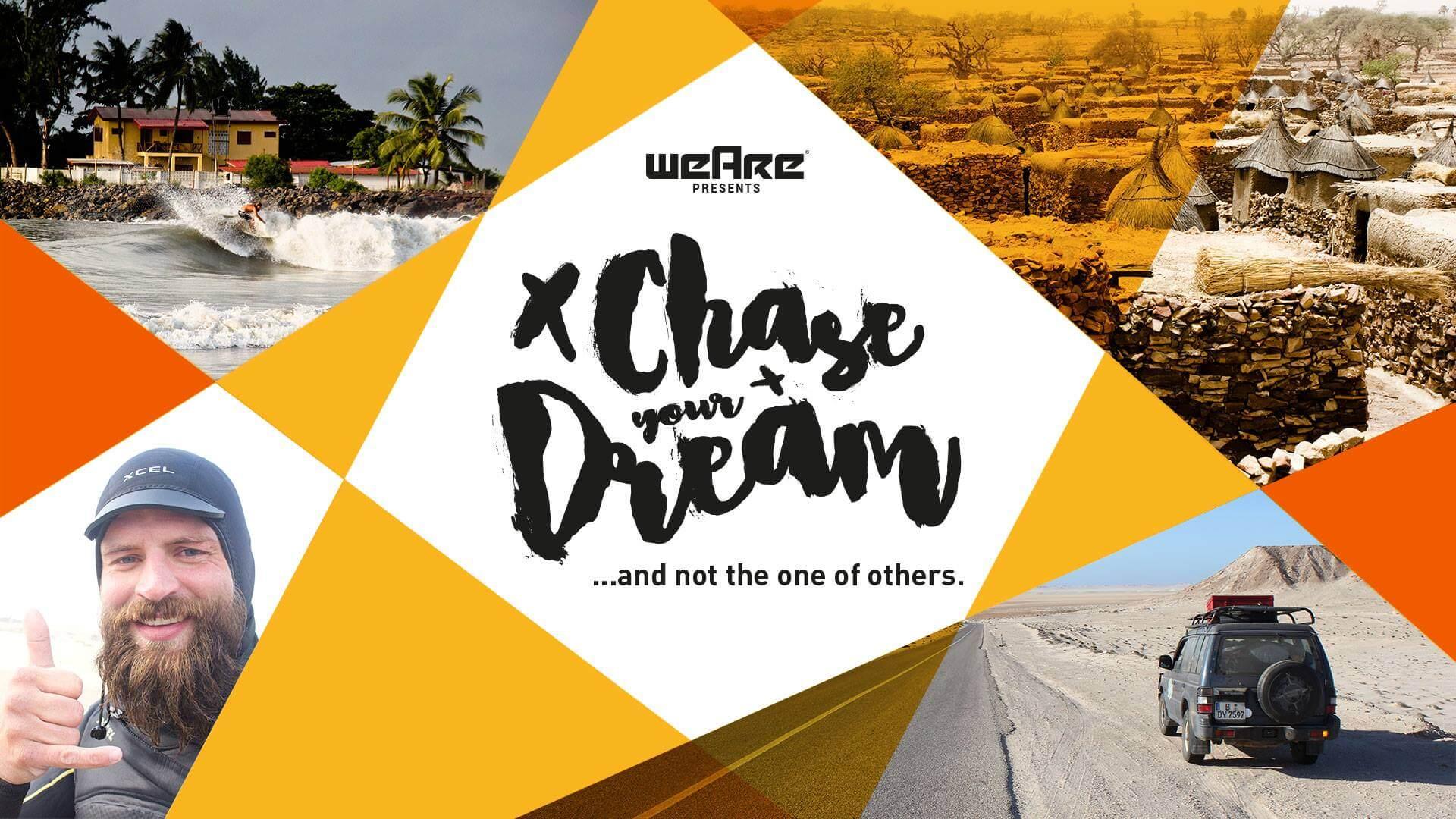 """60.000 km, 25 Länder, 18 Monate, 1 Reisender: Beeindruckende Bilder bei """"CHASE YOUR OWN DREAM"""" mit Vortrag und Ausstellung!"""