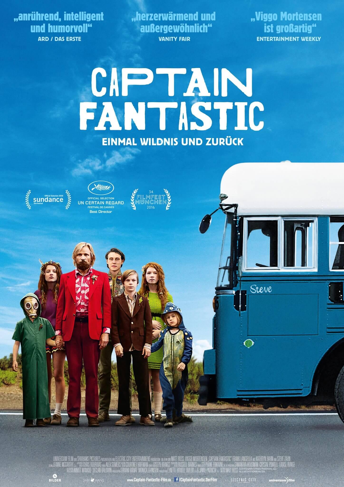 Statt toller Aussteiger-Idylle wendet sich das Blatt. Captain Fantastic – Einmal Wildnis und zurück – der Film!