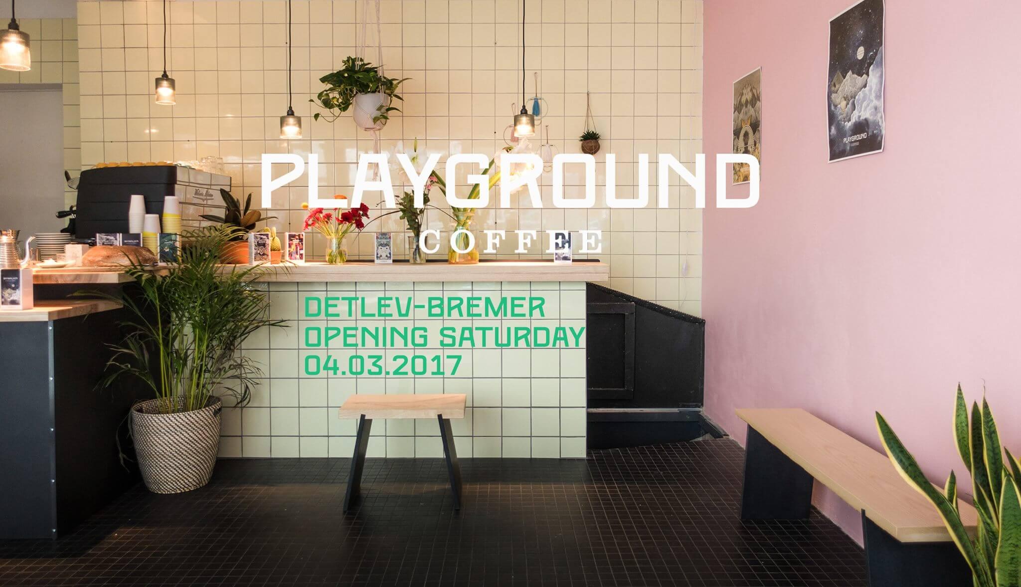playground coffee st pauli opening die jungs haben schon die milchd sen voll aufgedreht und. Black Bedroom Furniture Sets. Home Design Ideas