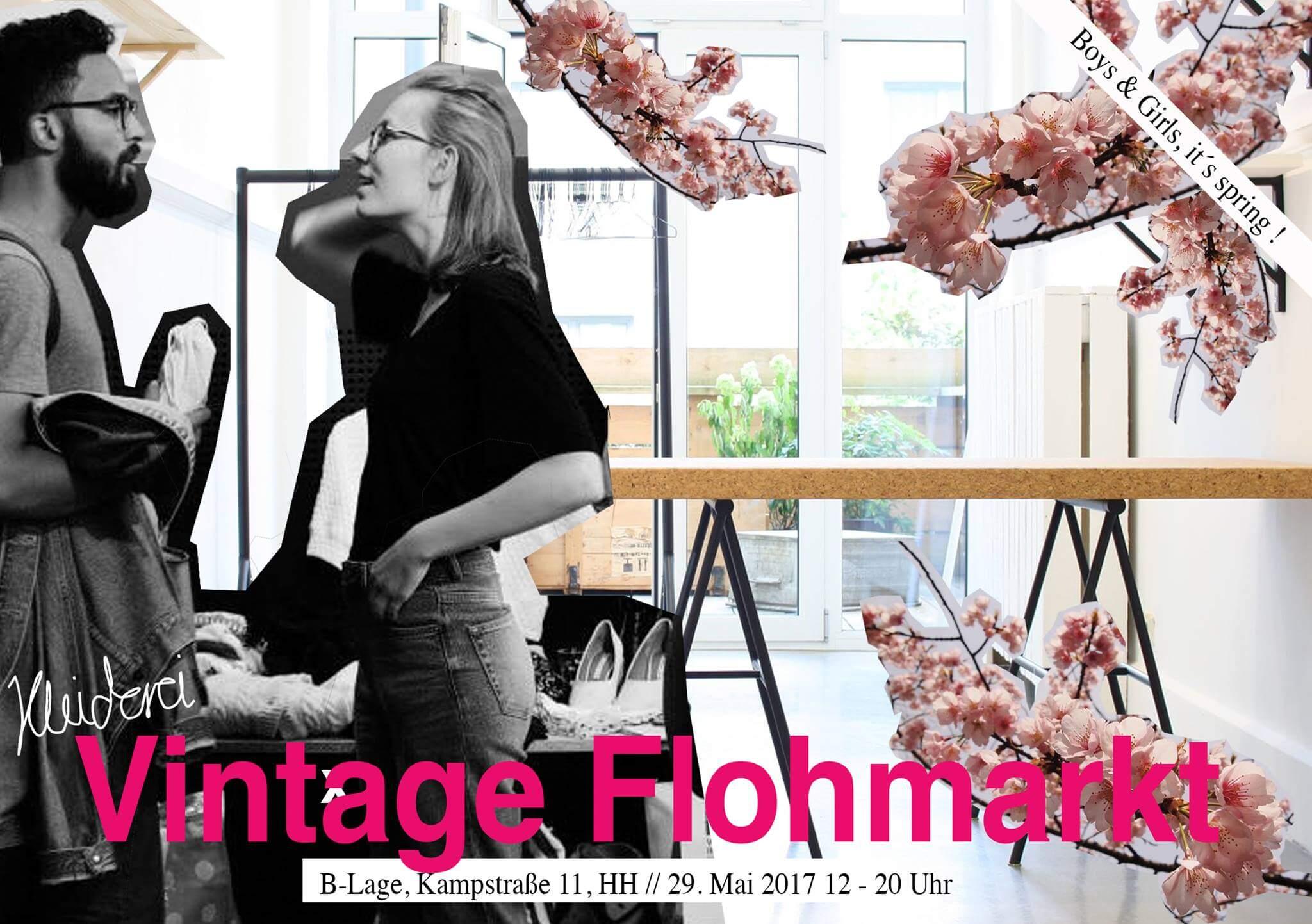 yuhu endlich findet wieder der flohmarkt und vintage sale der kleiderei statt heute in hamburg. Black Bedroom Furniture Sets. Home Design Ideas