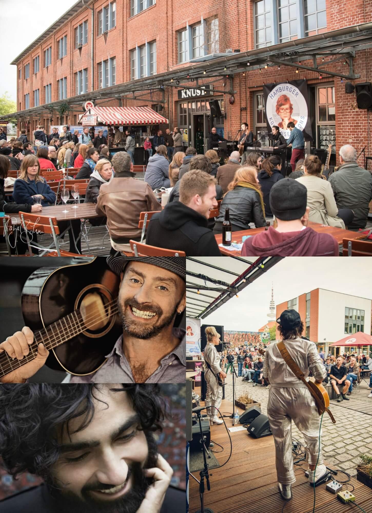 Die Hamburger Küchensessions trauen sich wieder nach draußen! Konzerte unter freiem Himmel ein
