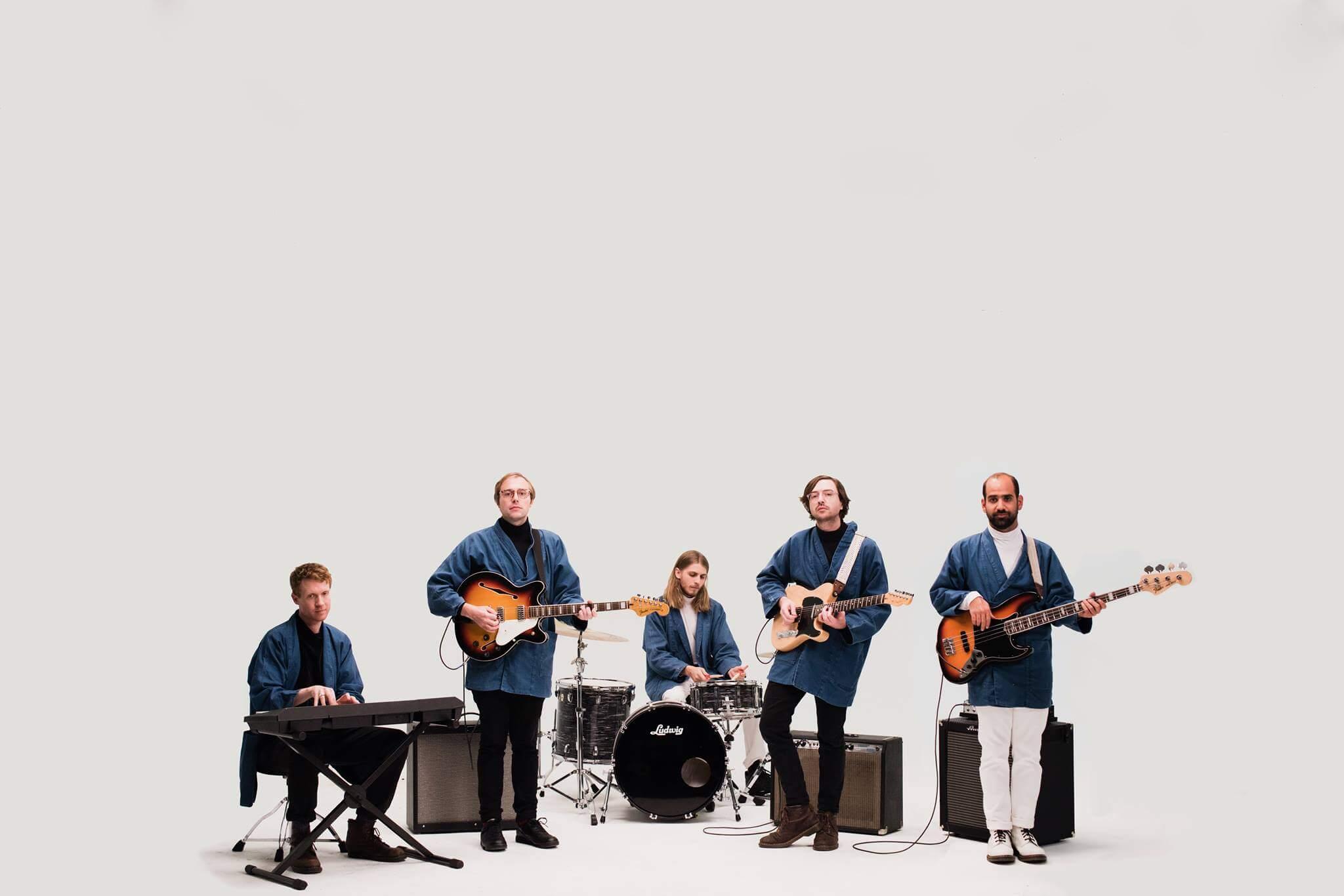 Die Band Real Estate versorgt dich im kuscheligen Molotow mit neuer Musik!