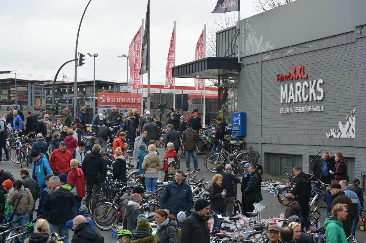 Dein Drahtesel staubt bei dir ein? Auf der XXL-Fahrrad-Börse kannst du es an den Mann oder die Frau bringen!
