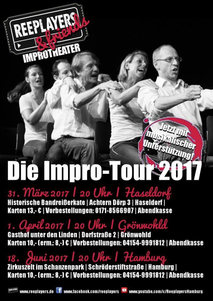 Neue Spiele, neues Glück: Die Reeplayers zeigen beim Improtheater ihr Können!