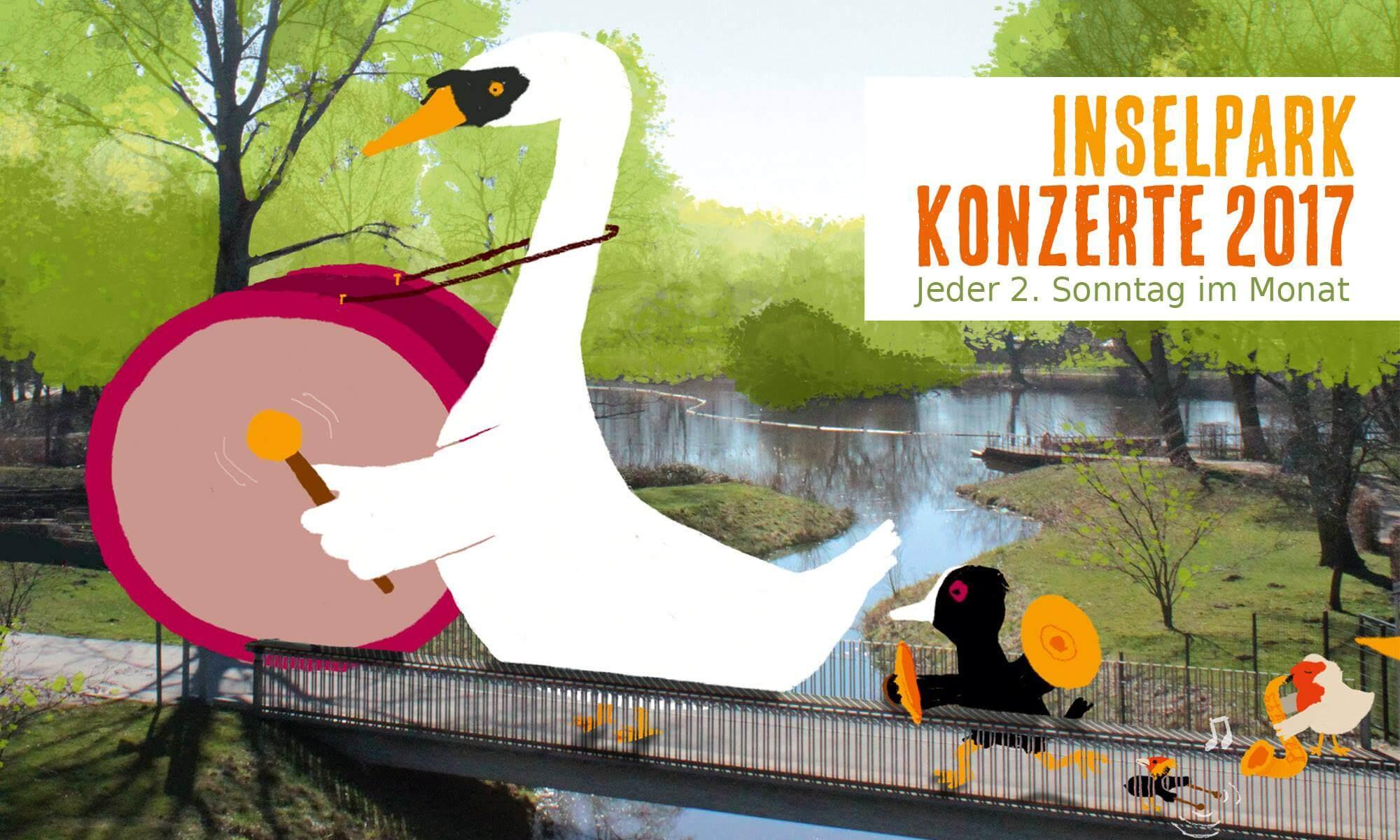 """Die Inselparkkonzerte laden zum """"Offenen Chorgesang"""" ein – Stimmbänder geölt?"""