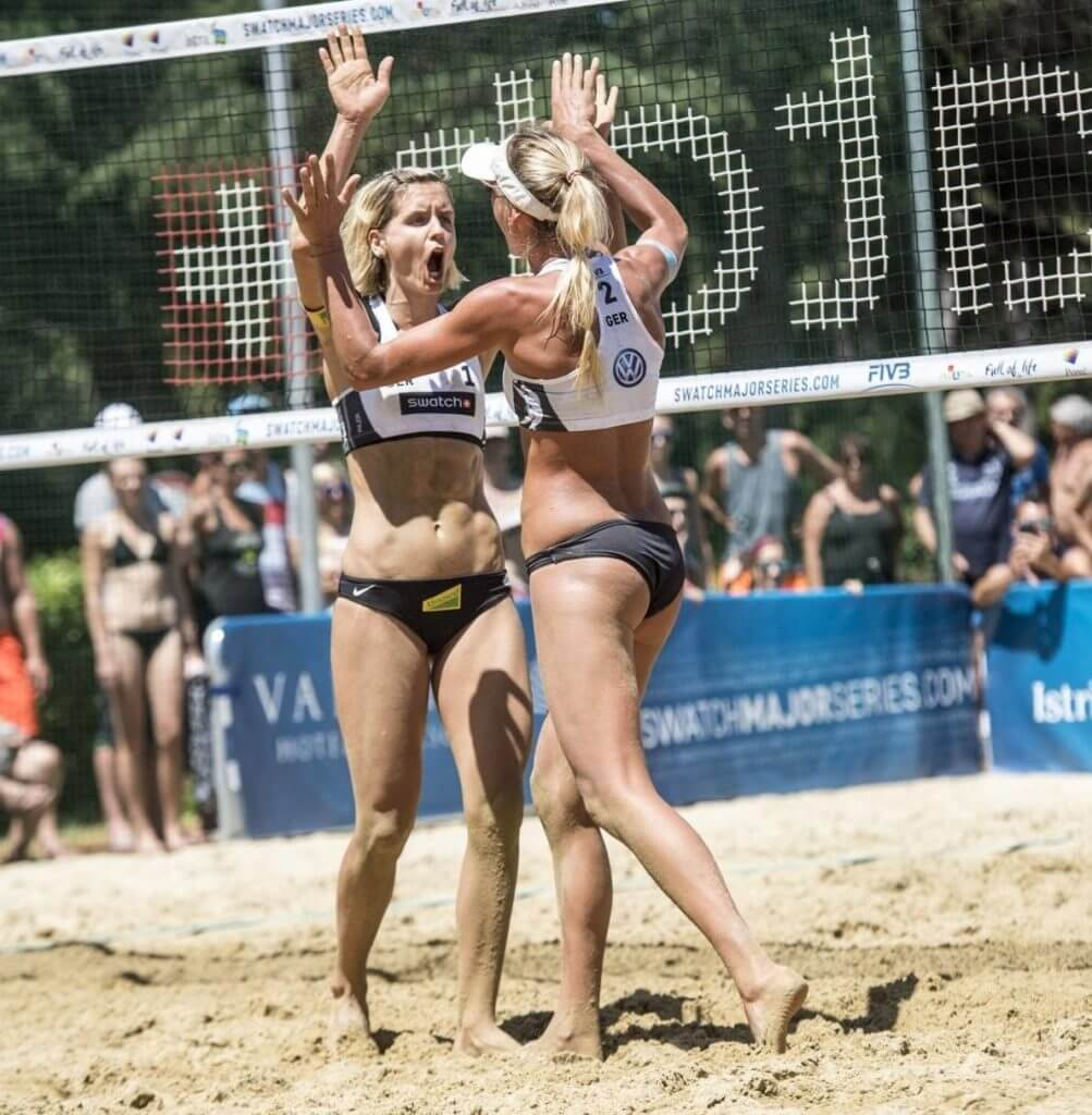 """Finaaaale, ohooo""! Komm zum Auftakt der ""Swatch Beach Volleyball Major Series Hamburg Finals""! 🏐"