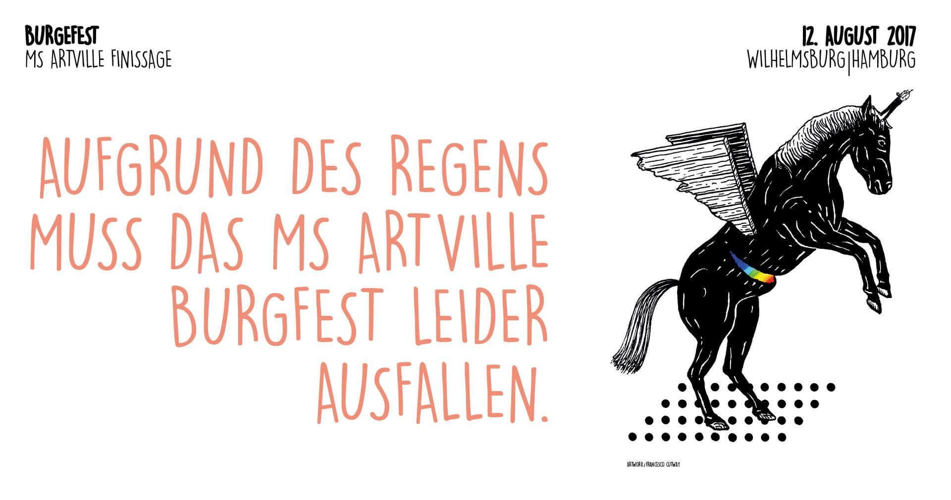 ABGESAGT: Das MS Artville Burgfest hat ein spannendes Programm am Start!