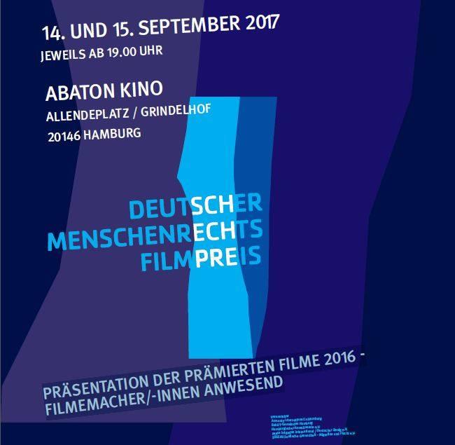 """Die """"Lange Nacht des Deutschen Menschenrechtsfilmpreises"""" präsentiert dir prämierte Filme aus 2016!"""
