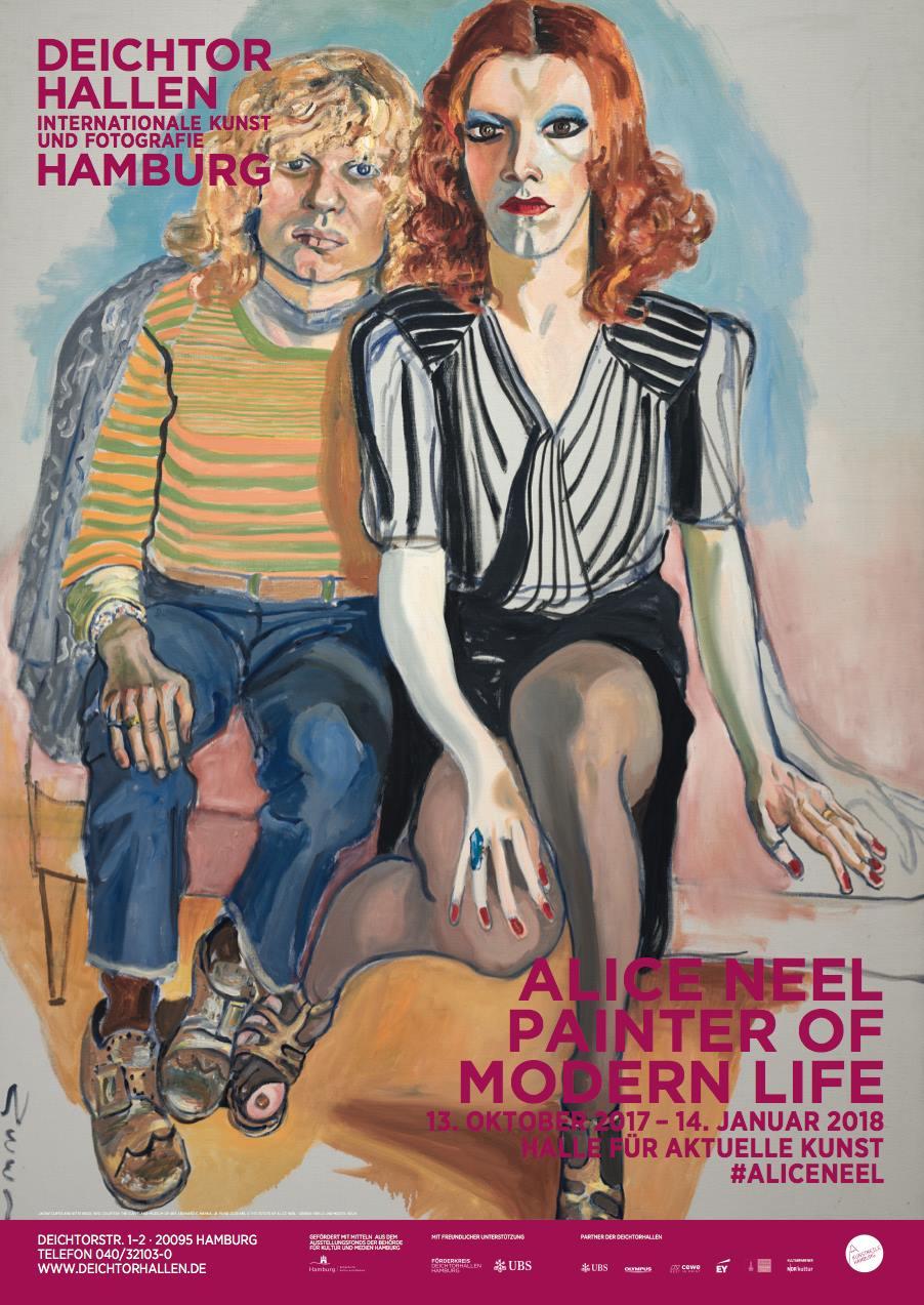 "Alice Neel ist eine erstklassige Malerin! Sieh selbst in ""Painter of Modern Life""!"