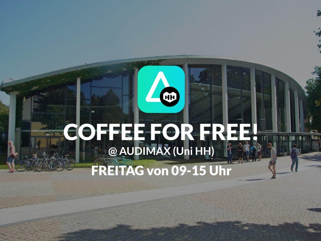 AINO gibt einen aus! ☕️ Wir verteilen kostenlos Kaffee! 😍 Komm vorbei!