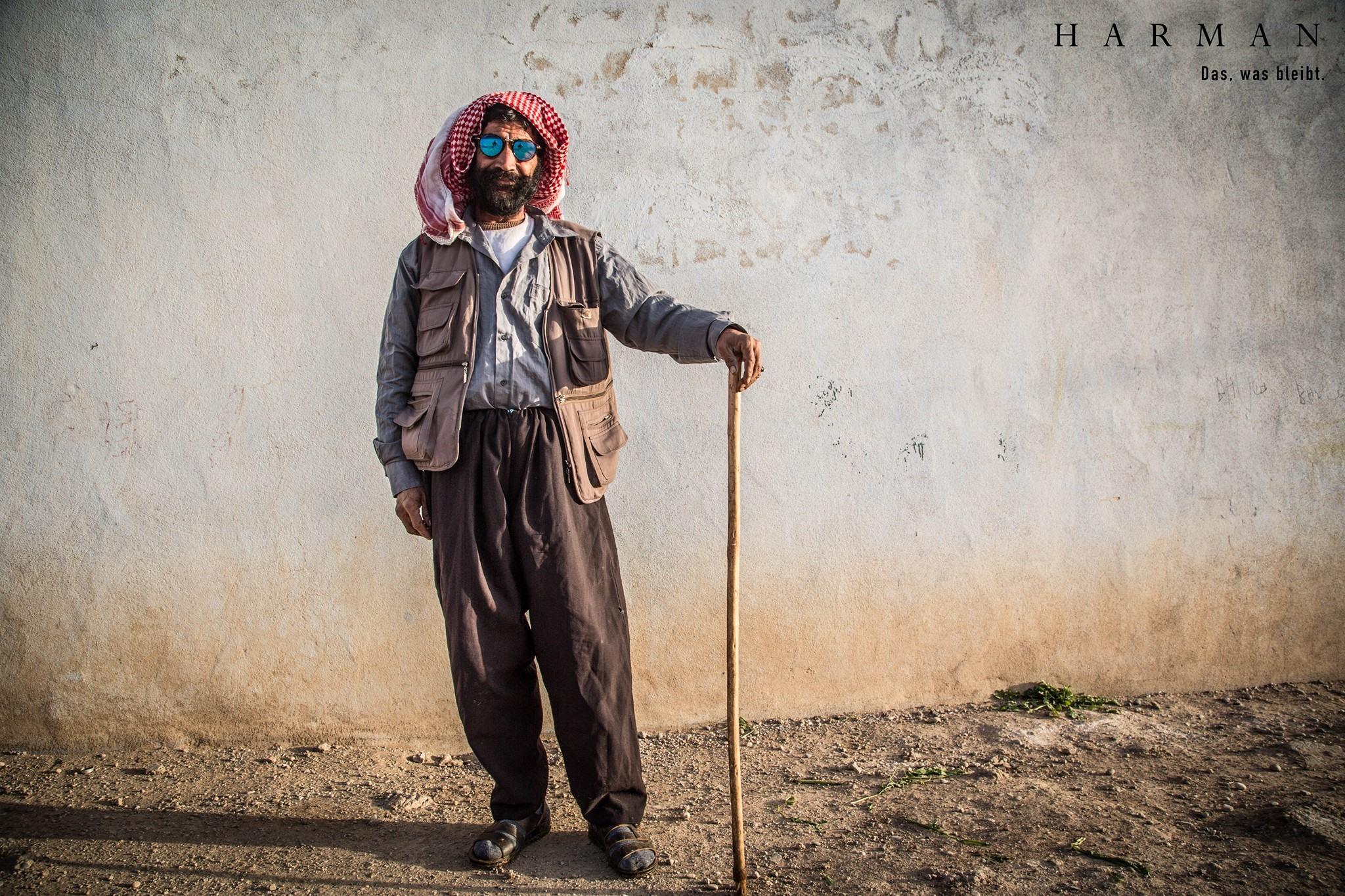 """Die Ausstellung """"Harman – Das, was bleibt"""" zeigt die Reise zweier Studenten durch Nord-Irak."""