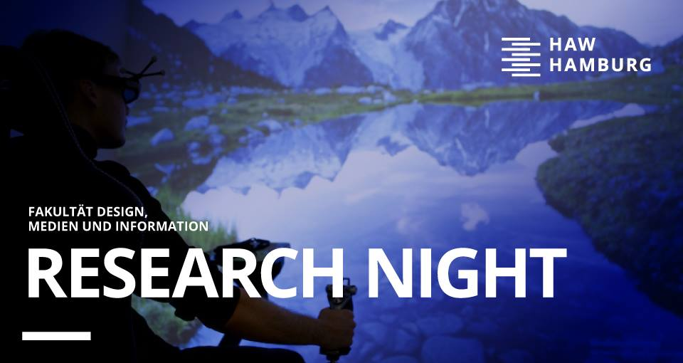 Virtuelle und Augmented Reality gibt's bei der Research Night!