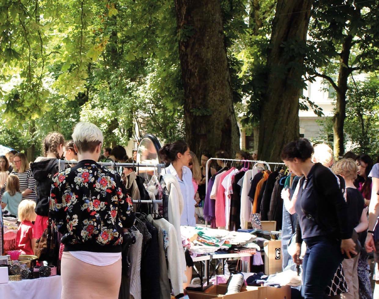 Outfit wechsel dich: Beim Kleidertauschmarkt findest du neue Klamotten!