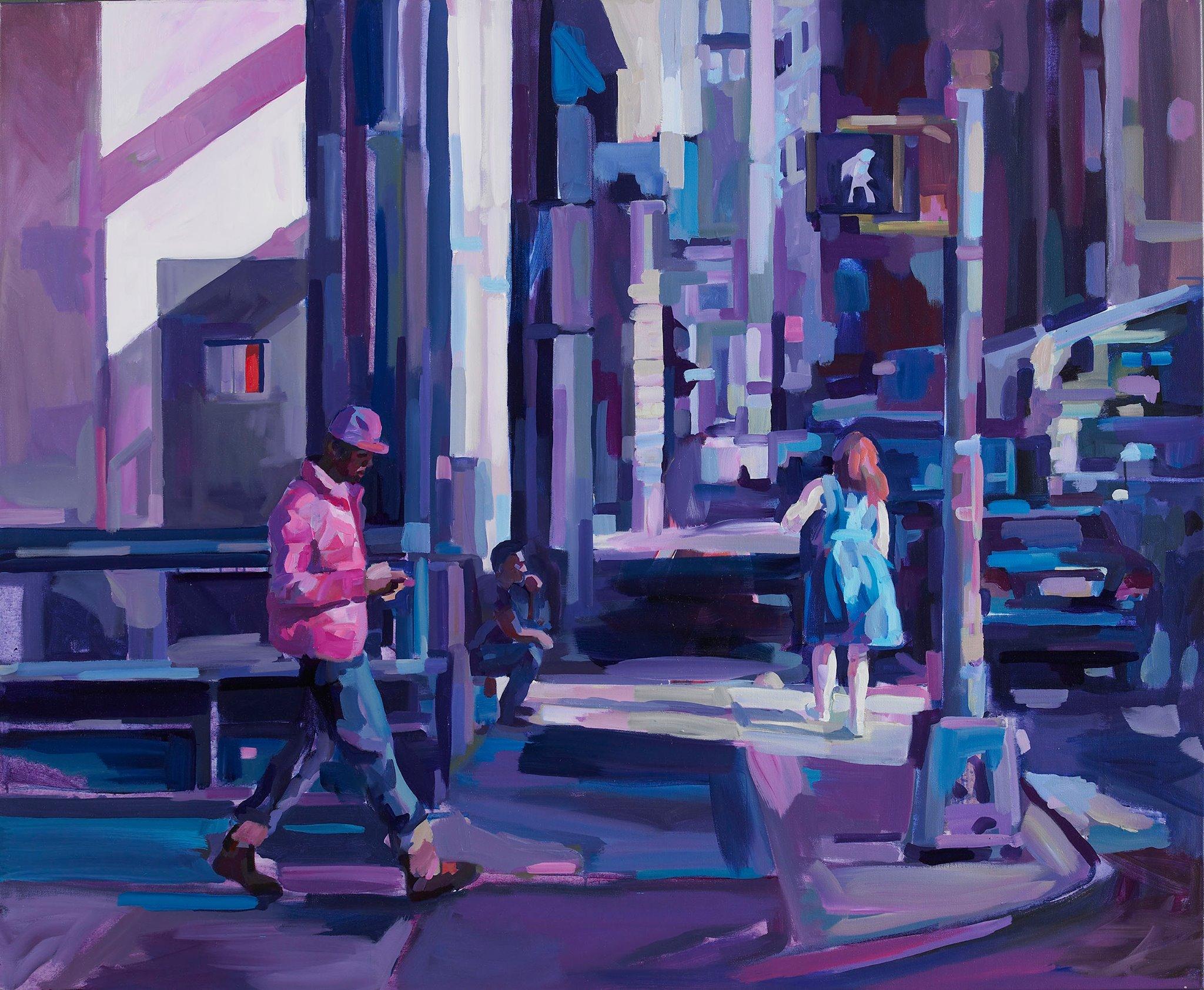 """Kunst gibts auch am Montag: Felix Eckardt zeigt seine Ausstellung """"Urban Vibes""""!"""