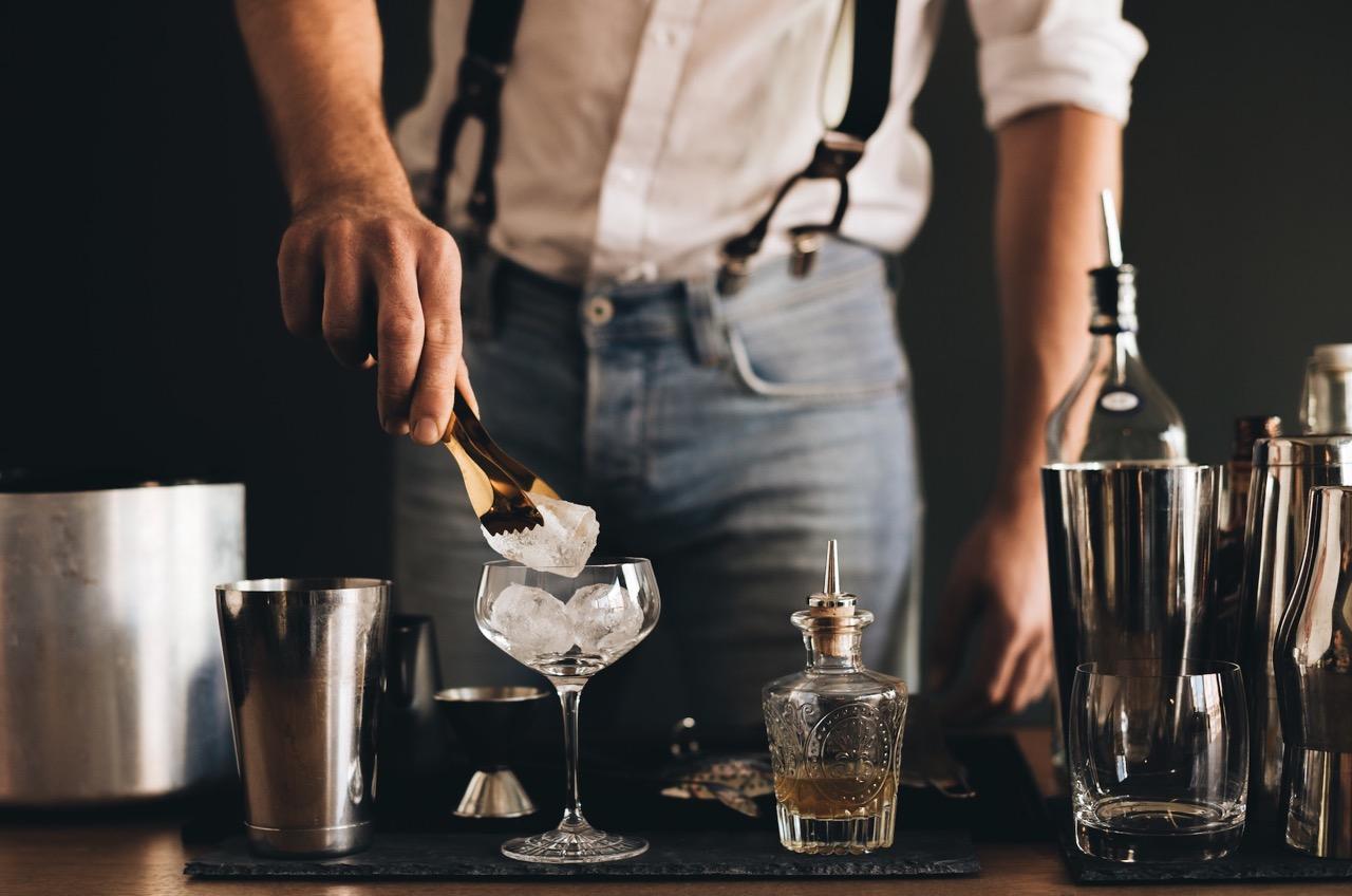 Gin Tasting Hamburg Eiswürfel