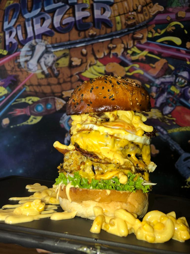 Dulf`s Burger Riesenburger Riesenburger