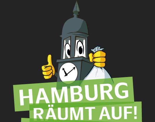 Logo Hamburg räumt auf
