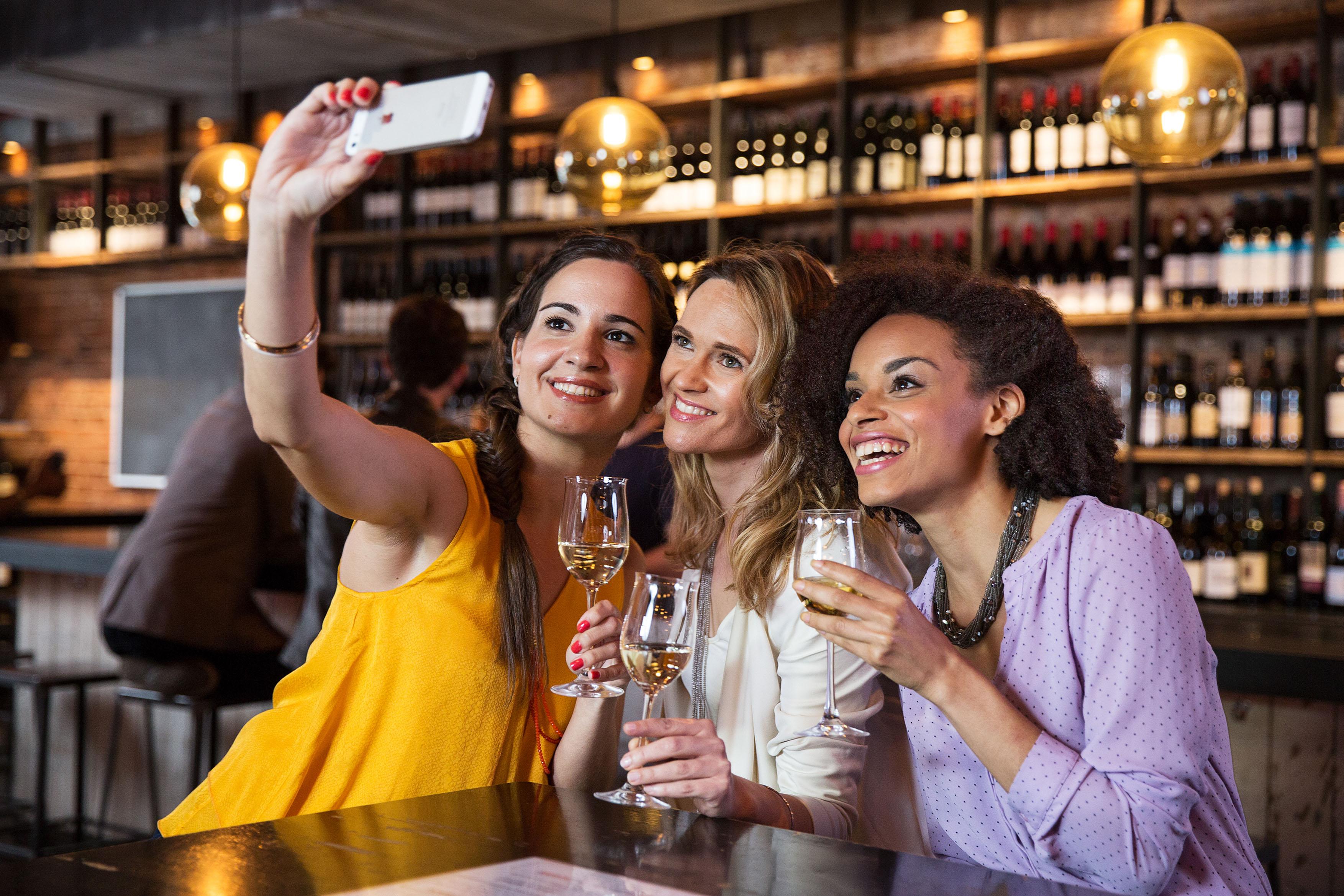 Tag des offenen Weins Selfie